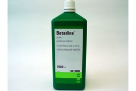 Betadine solutie 100mg/ml, 1000 ml, Egis Pharmaceutical