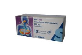 ACC 600, 10 comprimate efervescente, Hexal