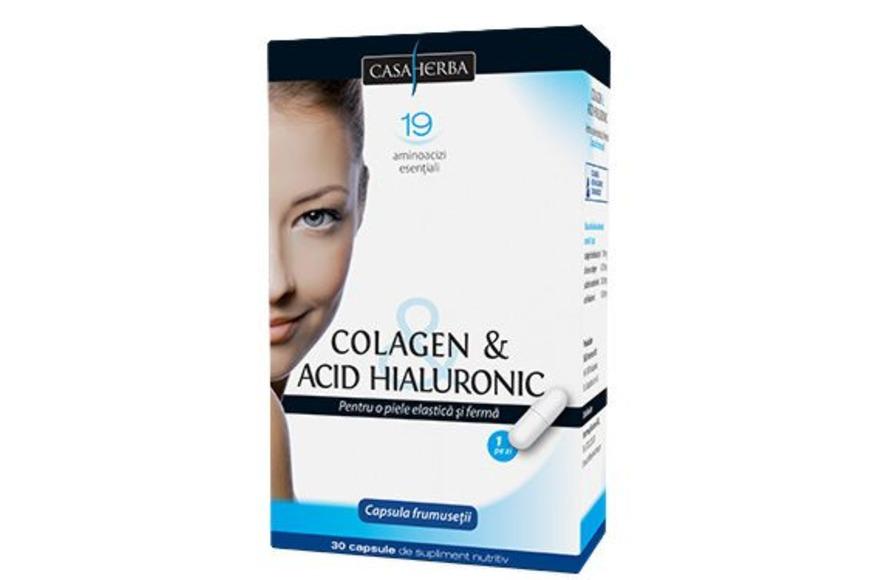 pastile cu acid hialuronic si colagen