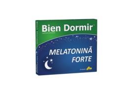 Bien Dormir melatonina forte, 10 capsule, Fiterman Pharma