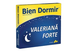 Bien Dormir valeriana forte, 10 capsule, Fiterman Pharma