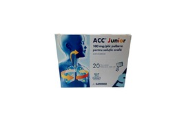 Acc Junior 100mg, 20 plicuri, Sandoz