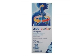 ACC Junior sirop 20mg, 100 ml, Sandoz
