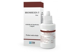 Bromhexin-T picaturi orale, 50 ml, Tis Farmaceutic