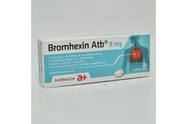 Bromhexin 8 mg, 20 comprimate, Antibiotic Iasi