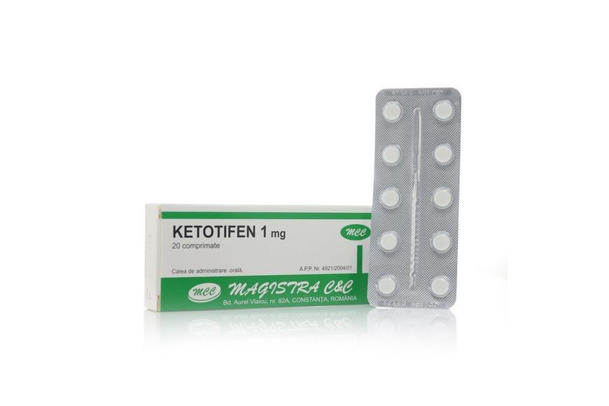 ketotifen pastile prospect