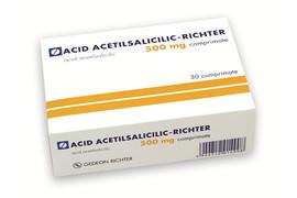 Acid acetilsalicilic tamponat 500mg, 30 comprimate, Gedeon Richter