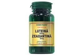 Premium Luteina 10mg Zeaxantina 2mg, 30 capsule, Cosmopharm