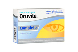 Ocuvite Complete, 30 capsule, Bausch & Lomb
