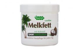 Vaselina cu ulei de cocos Melkfett Quartett Ream, 250 ml, Pharmamedico